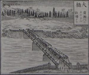 大橋・広瀬川に架かる鉄橋