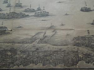 イ.観月楼界隈詳細図(中央下)