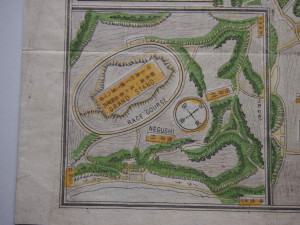 競馬場の拡大図、別名・根岸競馬場