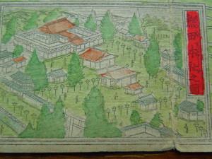 熱田神宮(名古屋市明細地図・明治23年版より)